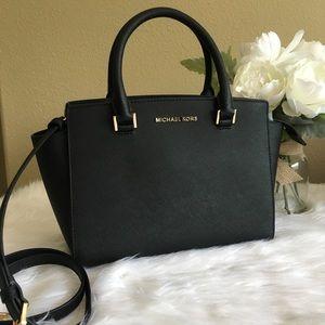 New Michael Kors medium Selma Satchel Bag